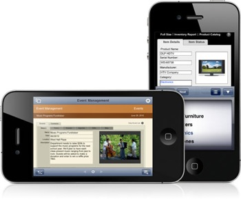 FileMaker® on iPad or iPhone
