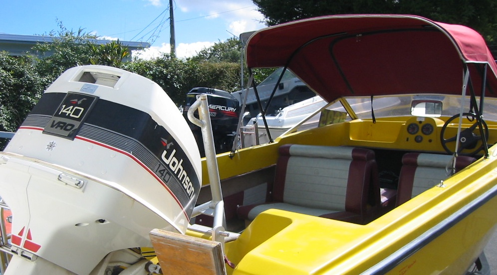 Boat for sale plylite comaro 15ft 1978 for Outboard motors for sale nz