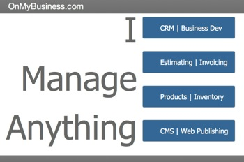 I Manage Anything | OMB - OnMyBusiness CRM made with FileMaker