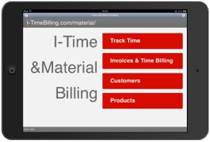 I-Time & Material Billing