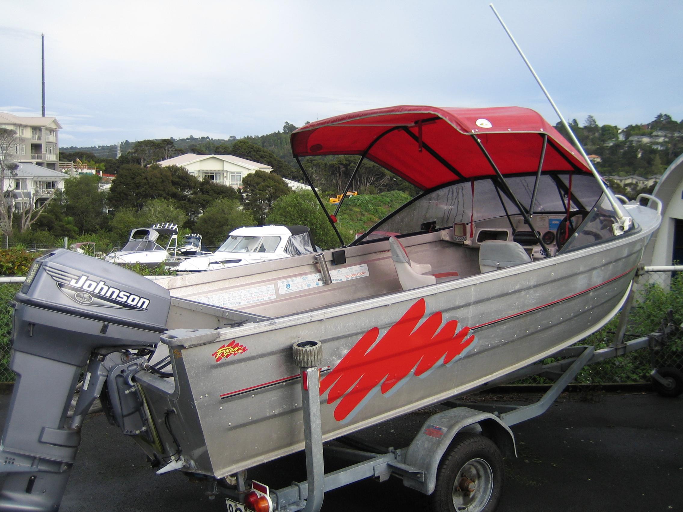 Boat for sale fyran 440 1999 for Outboard motors for sale nz