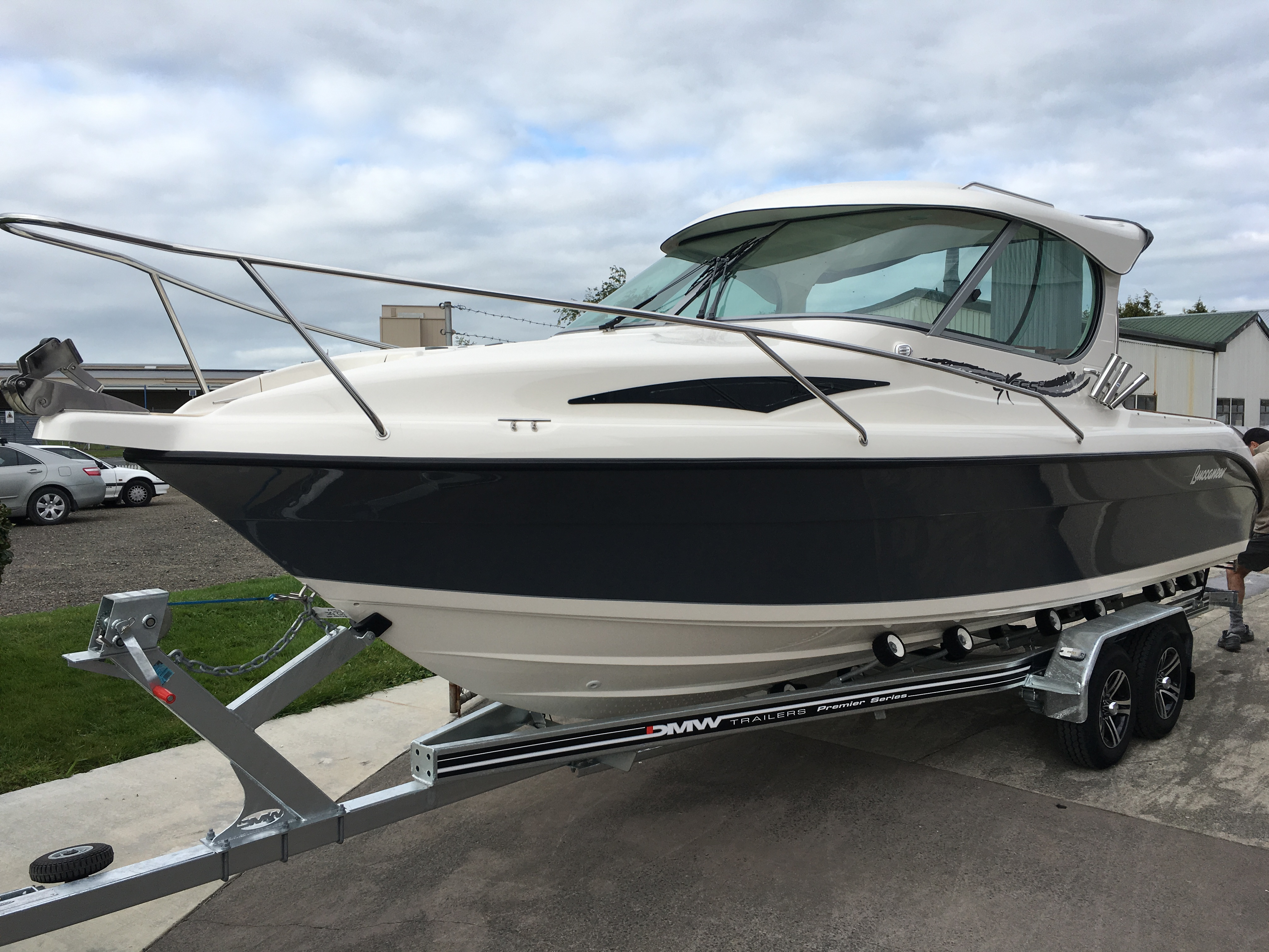 Boat for sale buccaneer 685 exess hardtop 2017 for Outboard motors for sale nz