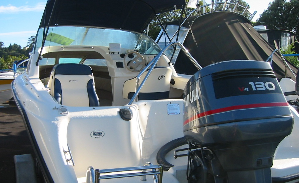 Boat for sale buccaneer 550 classic 2001 for Outboard motors for sale nz