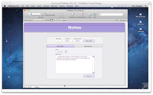 FileMaker Training Video