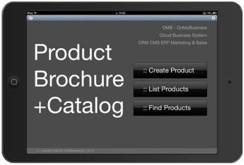 Product Inventory Brochure & Catalog